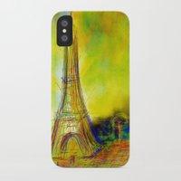 eiffel iPhone & iPod Cases featuring Eiffel by Alexandre Reis