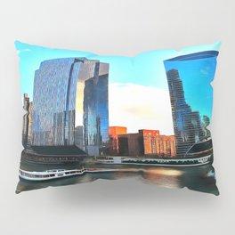 Chicago Riverwalk Pillow Sham