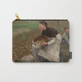 Jules Bastien Lepage - October, 1878 Carry-All Pouch