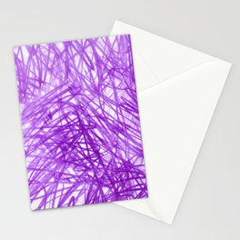 Ophelia Purple Stationery Cards