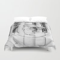 piano Duvet Covers featuring Piano by annelise johnson