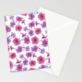 Petunias trailing Stationery Cards