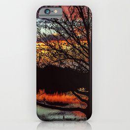 Halibut Point Sunset iPhone Case