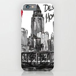 I love Des Moines iPhone Case