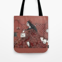 Schneewittchen-The House of the Seven Dwarfs Tote Bag