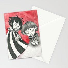 sad children Stationery Cards