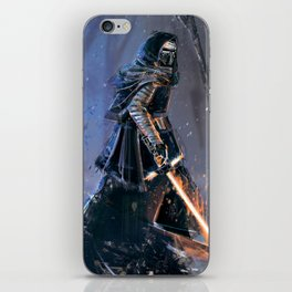 The dark side iPhone Skin