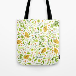 Fruits and vegetables pattern (20) Tote Bag
