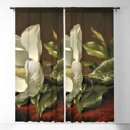 """Magnolia Grandiflora,"" 1885 by Martin Johnson Heade Blackout Curtain"