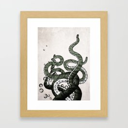 Octopus Tentacles Framed Art Print