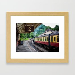 Platform 2 Framed Art Print