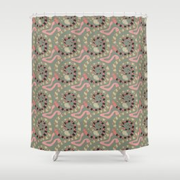 Snakes Shower Curtain
