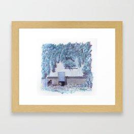 La chaise longue Framed Art Print