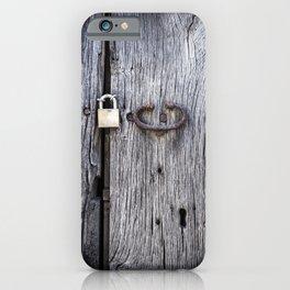 Hidden Door iPhone Case