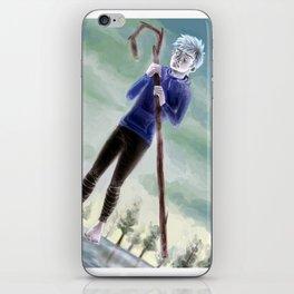 We'll go skating again next winter iPhone Skin