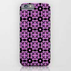 Seamless floral and dots pattern iPhone 6s Slim Case