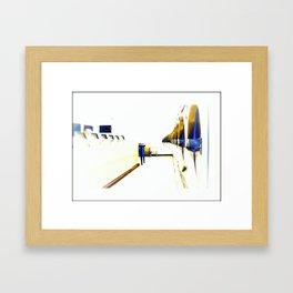 Dryers in the Hotel California Framed Art Print