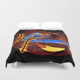 Visonorph V2 - digital abstract Duvet Cover