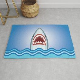 Cartoon Shark Rug