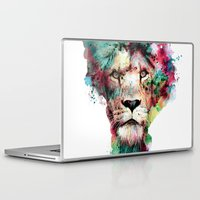 king Laptop & iPad Skins featuring THE KING by RIZA PEKER