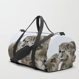 Shouting Match Duffle Bag