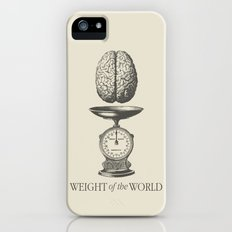 Weight of the World Slim Case iPhone (5, 5s)