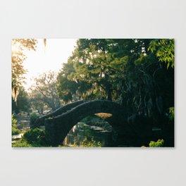 City Park Bridge, New Orleans Canvas Print