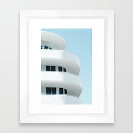 Art Deco Miami Beach #3 Framed Art Print