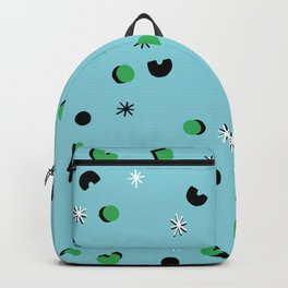 Green Confetti Backpack