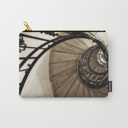 upwards - elegant old spiral staircase Carry-All Pouch