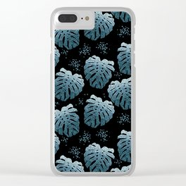 Tropical #3 Clear iPhone Case