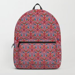 Pink Tribal Pattern Backpack