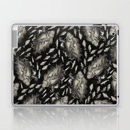 Wierd Fish and Unicorns Unite Laptop & iPad Skin