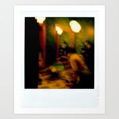 Polaroid disaster Art Print