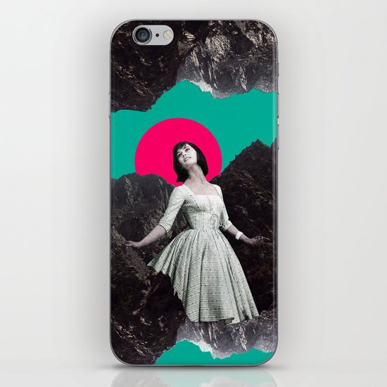 Between a rock and a hard place. iPhone & iPod Skin