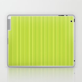 Lime Green Pinstripe Laptop & iPad Skin