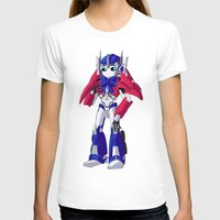 optimus prime T-shirts featuring Optimus Prime by Crow
