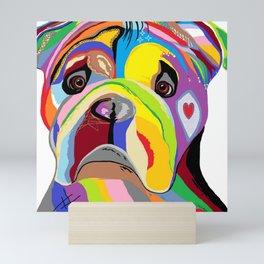 Bulldog Mini Art Print
