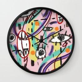 EyesEyesBaby Wall Clock