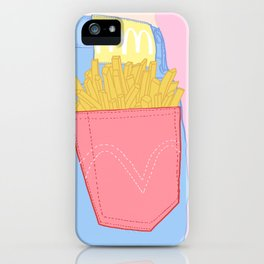 FRENCH FRIES TO-GO iPhone Case