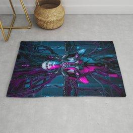 The Quantum Zen Queen Rug