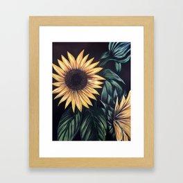 Sunflower Life Framed Art Print