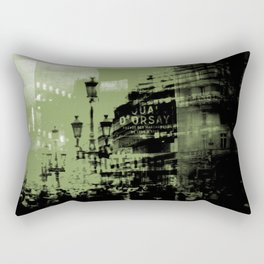 1st arrondissement Rectangular Pillow