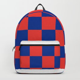 checkered pattern Backpack