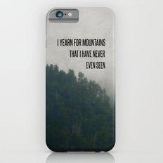 Mountain Yearning  Slim Case iPhone 6s