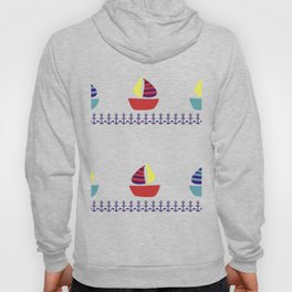boats and anchors Hoody