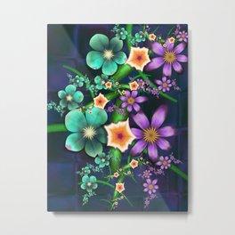 Flower Crop Metal Print