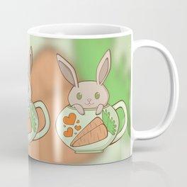 Peeking Bunny Coffee Mug