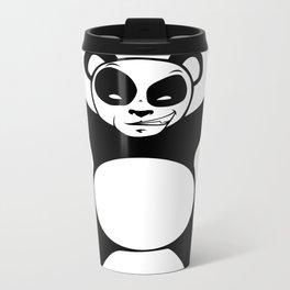 Panda Love Hug Metal Travel Mug
