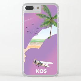 Kos Clear iPhone Case